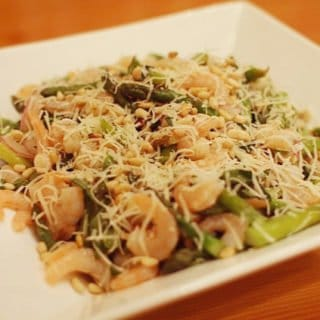 Cold Asparagus and Shrimp Salad