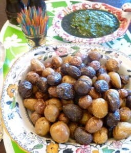 roasted marble potatoes