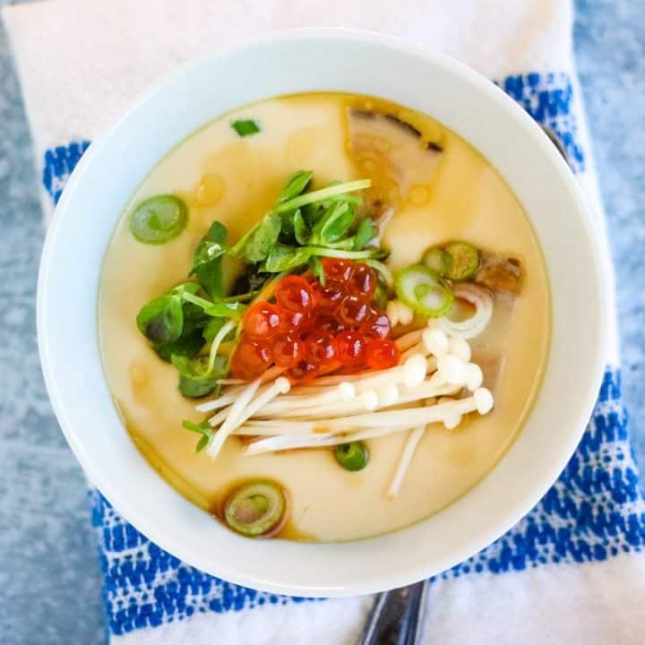 Chawanushi (Japanese Savory Egg Custard)