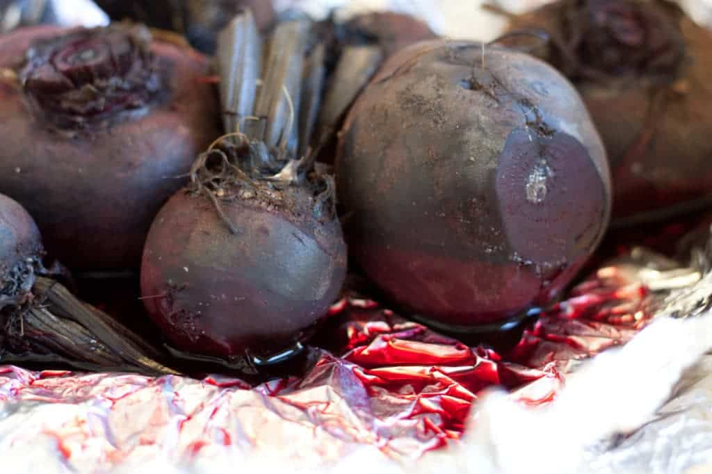Slow cooked beets