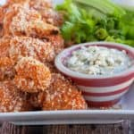 red hot cauliflower wings