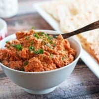 Roasted Carrot Spread with North African Spices