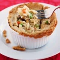 Gluten Free Chicken Pot Pie #RecipeMakeover