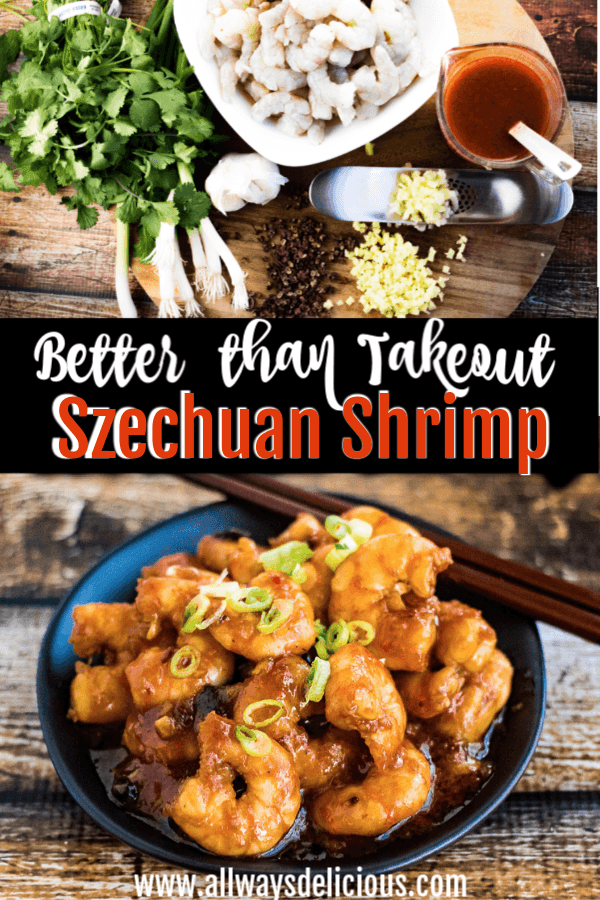 szechuan shrimp pin