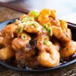Szechuan Shrimp for Chinese New Year