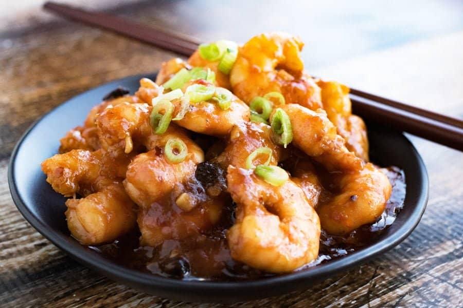 what is szechuan shrimp