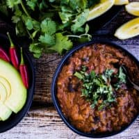 Pumpkin Black Bean Chili Recipe | The Gluten-Free Instant Pot Cookbook