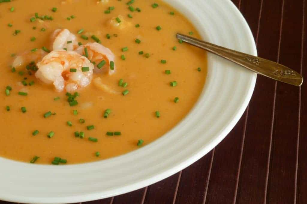 Roasted Shrimp Bisque Recipe