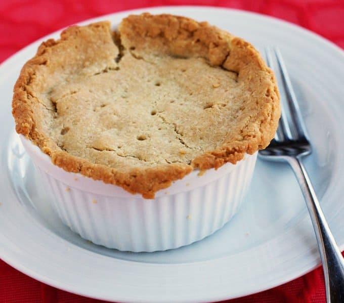 chicken pot pie with gluten free pie crust