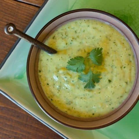 Tomatillo and Avocado Salsa Verde