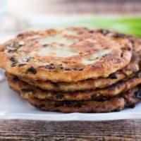 Crispy Scallion Pancakes