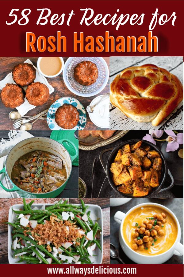 Rosh Hashanah roundup pin