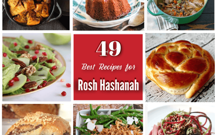 49 Best Recipes for Rosh Hashanah collage