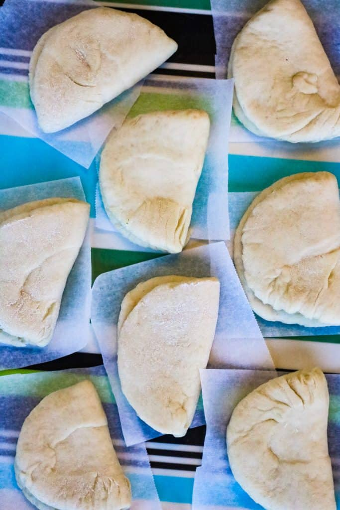 steamed buns before cooking