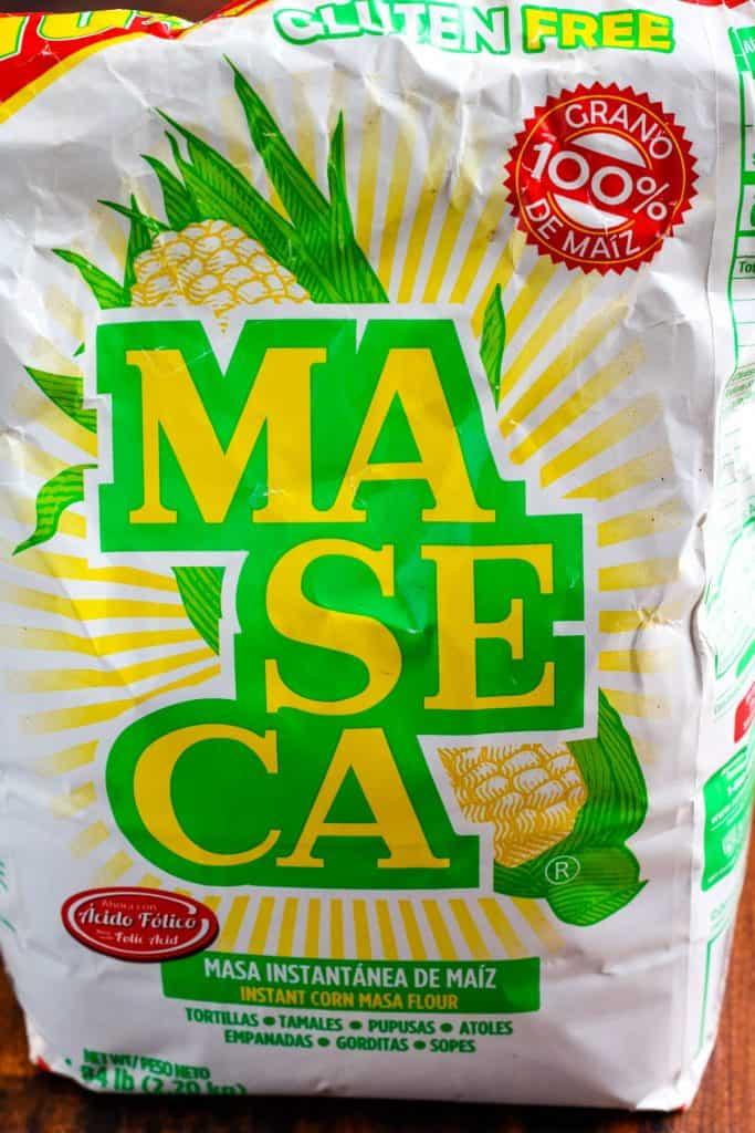 bag of maseca masa harina