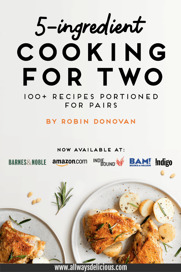 Book cover of 5-Ingredient Cooking for Two